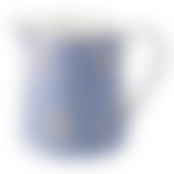 Pichet Nicoline en porcelaine bleu poudré, 0,5 L