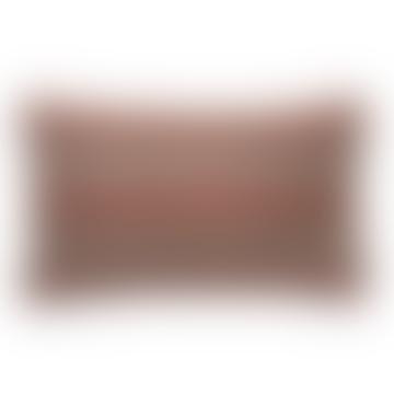 30cm x 50cm Light Coral Haakon Jaquard Cushion
