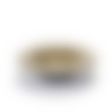 DEGUSTATION SMALL ROUND D21,3 H5 CM MISTY GREY/DARK BLUE