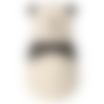 Maileg Cotton and Linen Panda Rattle Doll
