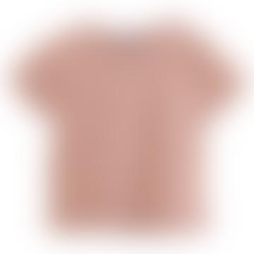 Terracotta Terry Cotton Tshirt