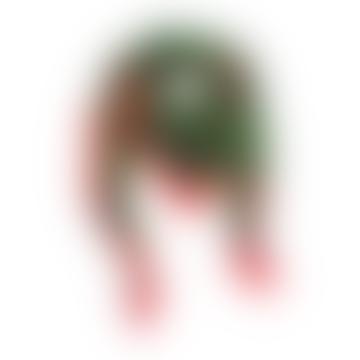 Bitmap Maze Green Scarf