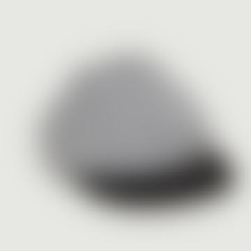 Black Cotton Plaid Cap