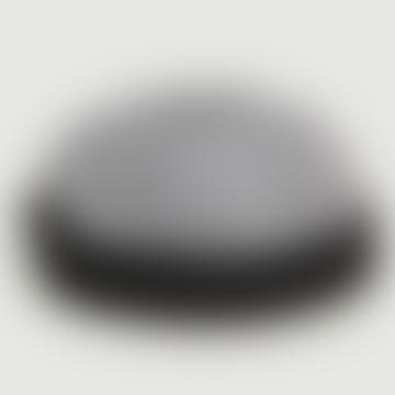 Black Cotton Checked Pattern Miki Hat