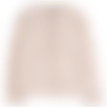 Cotton Long Sleeves Tunisian Collar Pattern Striped Shirt