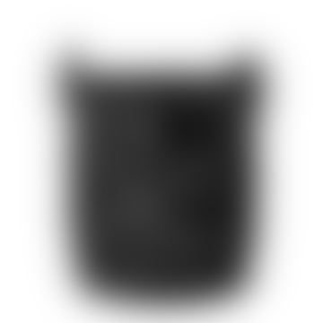 Black Rattan Sqaure Lantern