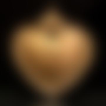 8 x 9.5cm Tinplate Royal Heart