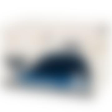 Blue Polyester Whale Spielzeugkiste - 601645