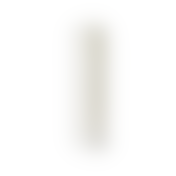 White paraffin Column Block Candle