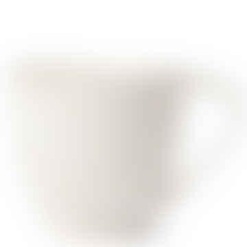 Handmade Ceramic Teacup white Lava