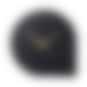 AYTM Black Marble Stilla Clock