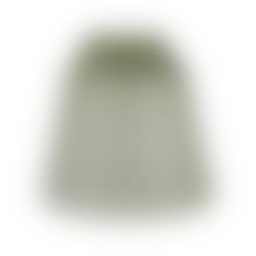 15.5cm Olive Green Glass Cloche Handblown