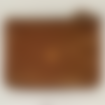17 x 12cm Leather Monoi Clutch