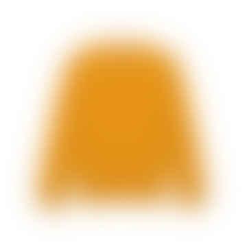 Burned Yellow Washed Merino Sweater