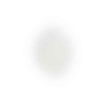HKliving Athena ceramics: octagonal appetizer plate white matt