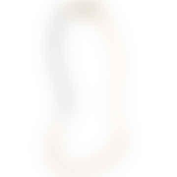 Halskette Vik mit 24 Karat vergoldeten Glasperlen - Blush Pink