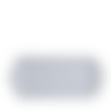 28cm Blue Felicity Rectangular Tray
