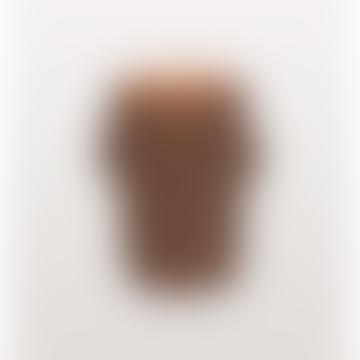 Cabeza Brown Head Vase Small
