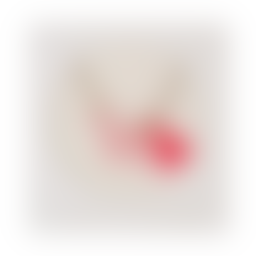 Collier pendentif Licorne Acrylique Rose avec Pompon