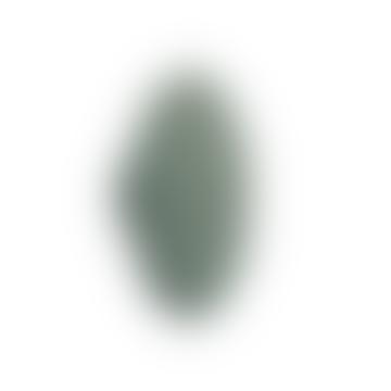 17cm Dusty Green Ash Wood Dots Wall Hook
