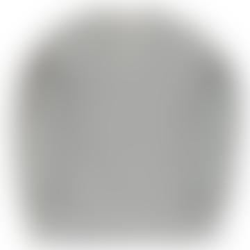 Eat Dust Skull Sweatshirt Grey Melange