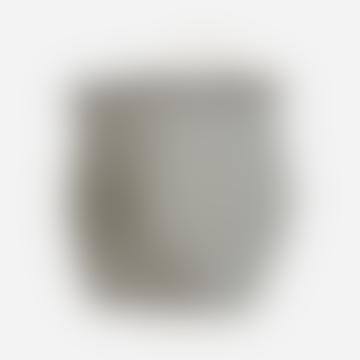 2er-Set Aufbewahrungstasche mit schwarzen und weißen Baumwollstreifen