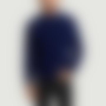 Homecore Midnight Blue Baby Alpaca Brett Sweater
