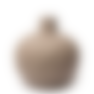 Astrid Relief Beige Vase