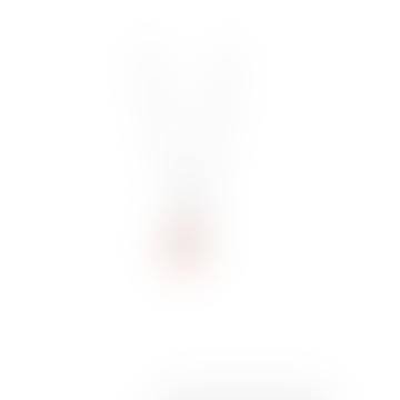 Estella Bartlett  Gemstone Star Necklace Pink Chalcedony Silver