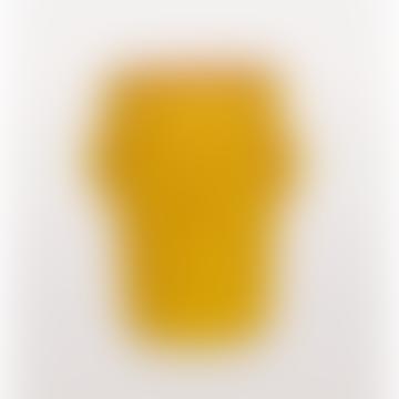 Cabeza Yellow Head Vase Large