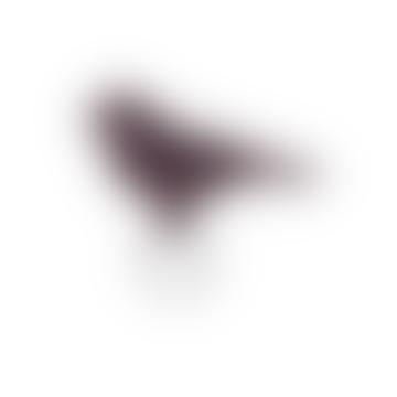 Keecie 7.5cm x 5cm Leather Mini Tweet Keychain