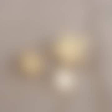 Large Brass Star Nail