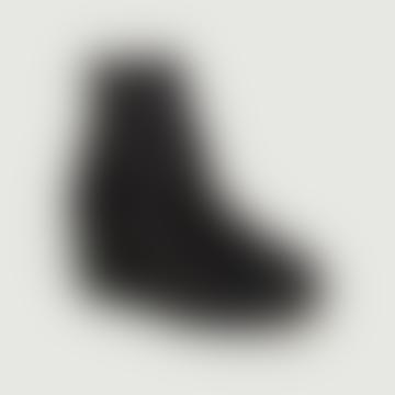 Black Velvet Noemi Wedges Ankle Boots