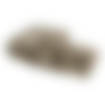 130 x 170cm Brown Bear Faux Fur Ribbed Throw