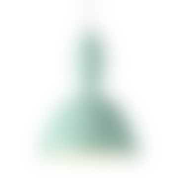 20.3cm Light Green Suspension Lamp