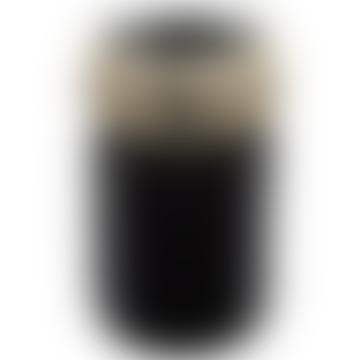 Laboratorio D'Estorias Big Black Drum of Vase