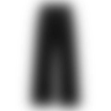 Nilina Cropped Black Trousers