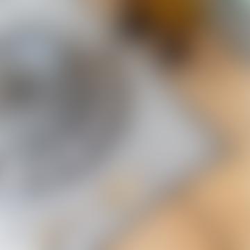 35 x 45cm Black Bombay Linen Placemat