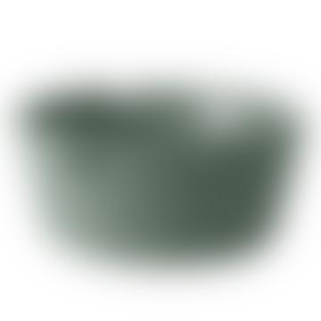 Dusty Green Round Restore Basket
