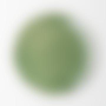 Green Stoneware Costa Verde Plate