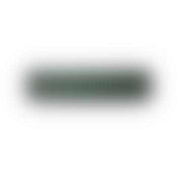 Dark Green Powder Coated Metal Record Lampshade