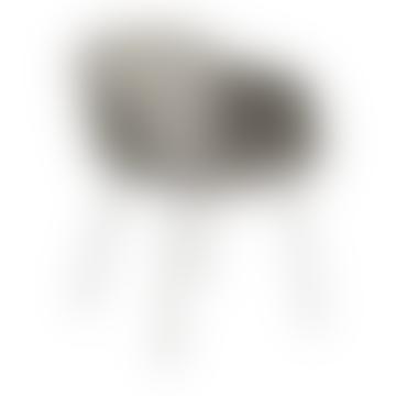 Muuto Gray Fiber Tube Armchair