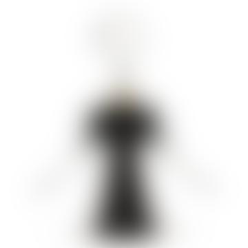 Alessi 7cm Black Anna G Corkscrew