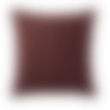 Muuto 50 × 50cm  Burgundy Cotton Layer Cushion