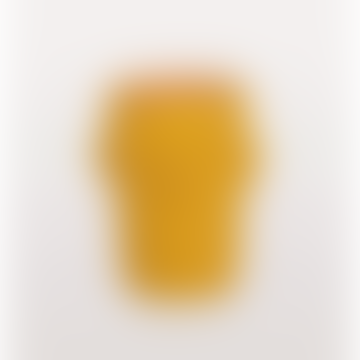 Cabeza Yellow Head Vase Small