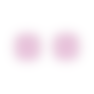 Square Pink Stones Diamantine BO Stud Earrings