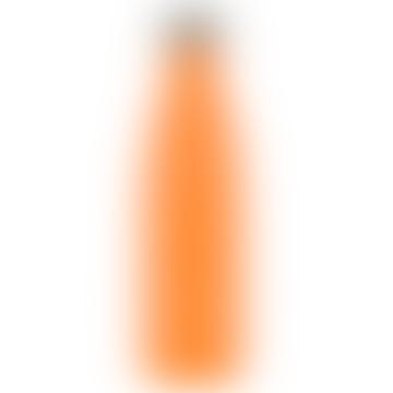500ml Neon Orange Stainless Steel Bottle
