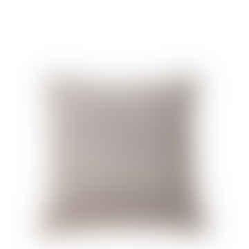 Affari Light Grey Velvet Large Cushion Covers