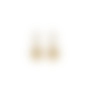Gold Ishtar Mini Hoops