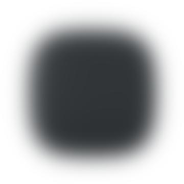Dark Gray Fabric Kupu 10 Smoke Alarm Clock